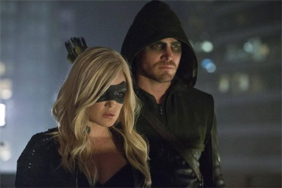 #Arrow and #Canary