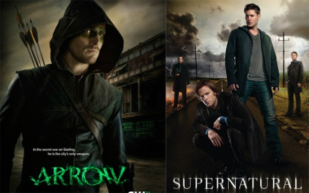 #Arrow Vs #Supernatural